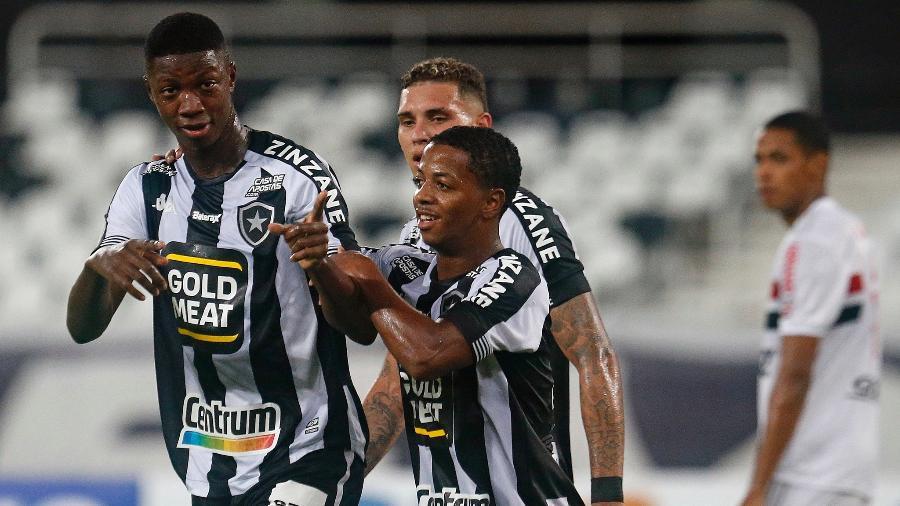 Atacante Matheus Babi é a aposta do Botafogo para a temporada - Vitor Silva/Botafogo