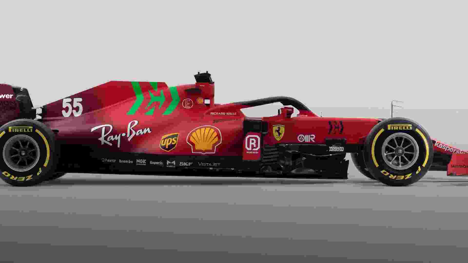 Carro da Ferrari foi aprensentado apenas dois dias antes dos testes da F1 - Ferrari/Divulgação