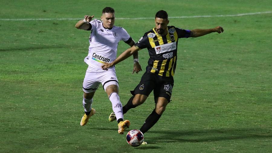 Volta Redonda e Botafogo se enfrentaram pela nona rodada do Carioca: jogo marcou pior Ibope da Record com Carioca 2021 - Ernesto Carriço/Enquadrar/Estadão Conteúdo