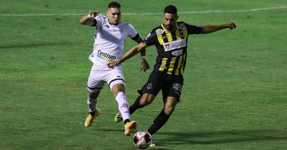 Volta Redonda e Botafogo se enfrentaram pela nona rodada do Carioca