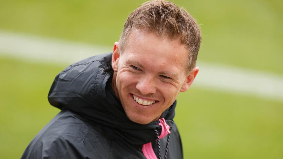 Julian Nagelsmnn foi anunciado como novo treinador do Bayern de Munique - Odd Andersen - Pool/Getty Images