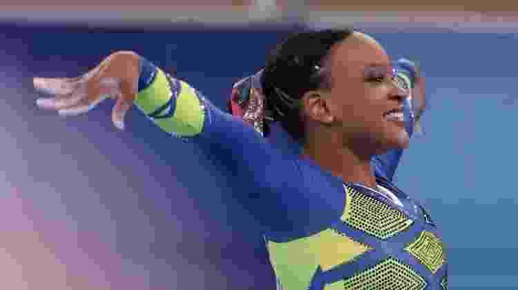 Rebeca Andrade conquistou a prata no individual geral em Tóquio - Ricardo Bufolin/CBG - Ricardo Bufolin/CBG