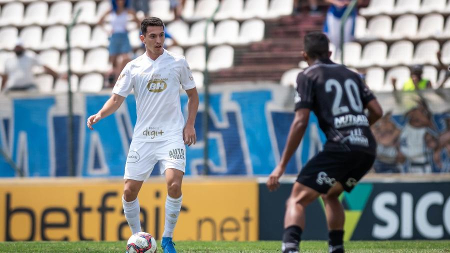 Marco Antônio (esq) jogou na base como meia, mas Luxemburgo entende que jogador é volante - Bruno Haddad/Cruzeiro
