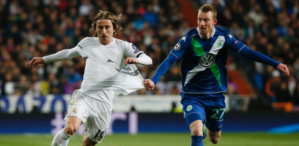 Luka Modric está no Real desde 2012 e forma meio-campo com Casemiro e Kroos