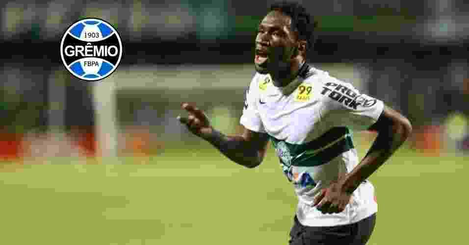 Montagem - Negueba (atacante) - Do Coritiba para o Grêmio - GERALDO BUBNIAK/AGB/ESTADÃO CONTEÚDO