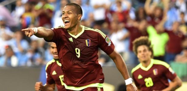 Salomón Rondón é o novo alvo do clube espanhol