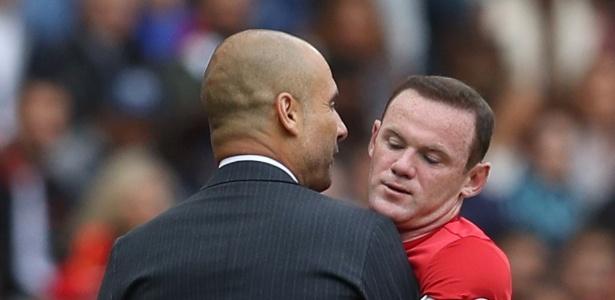 Guardiola foi um dos que defendeu o rival do United - Phil Noble/Reuters
