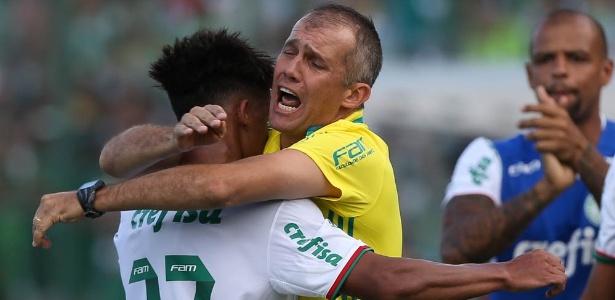Vitinho teve boa participação em jogo contra a Chapecoense