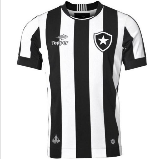 Uniforme do Botafogo