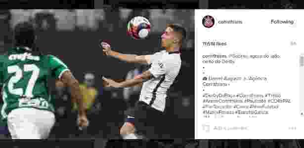 Gabriel Instagram Corinthians - Reprodução/Instagram - Reprodução/Instagram