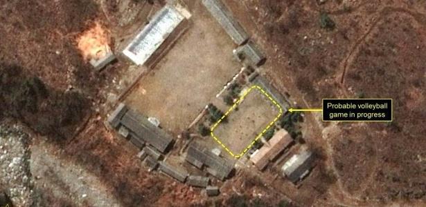 Mistério de jogos de vôlei em locais de testes nucleares da Coreia do Norte intriga analistas dos EUA - BBC
