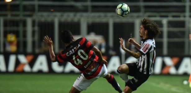 Valdívia diz que faltou sorte para o Atlético-MG no duelo com o Boa Esporte