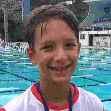 Caio Ottoni, nadador de 13 anos que morreu no treinamento - Reprodução/Facebook
