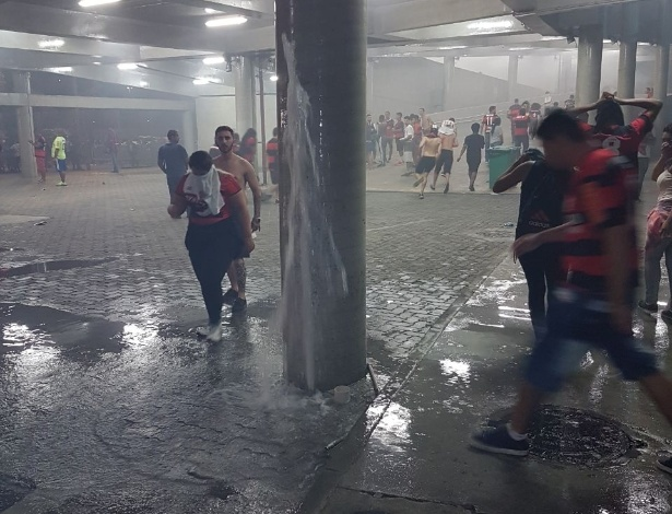 O departamento jurídico do Flamengo entregou a defesa sobre os tumultos à Conmebol