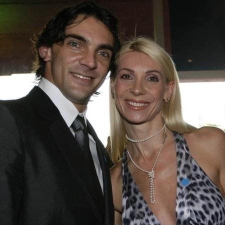 Giba e Cristina Pirv tiveram dois filhos - André Ricardo/UOL