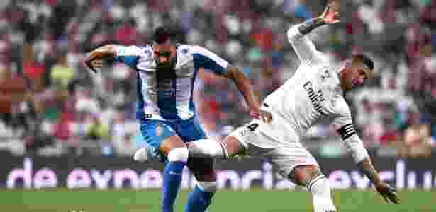 Sergio Ramos durante Real Madrid x Espanyol neste sábado - Susana Vera/Reuters - Susana Vera/Reuters