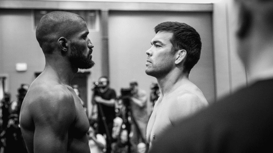 Lyoto Machida encara Rafael Carvalho antes de luta no Bellator - Reprodução/Bellator