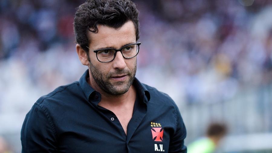 Alberto Valentim não suportou pressão no Vasco - Thiago Ribeiro/AGIF