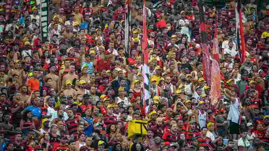 A torcida do Flamengo poderá colecionar cromos sobre a história do clube - Alexandre Vidal Fotógrafo