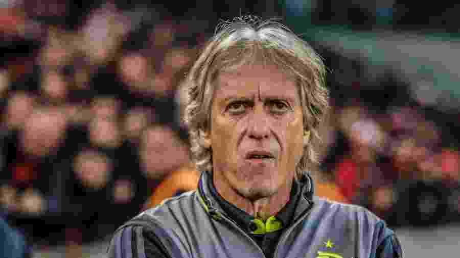 Sucesso de Jesus (foto) no futebol brasileiro é usado para oferecer treinador ao Internacional - Gabriel Machado/AGIF