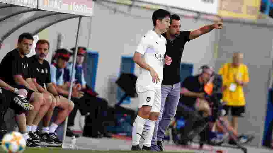 Xavi estreia como treinador - Al Sadd/Divulgação