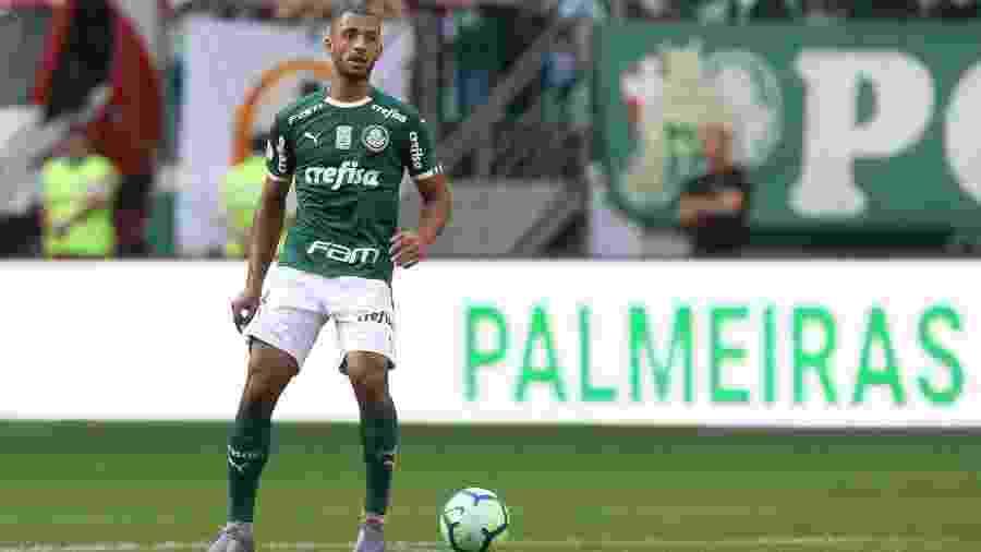 Vitor Hugo reestreou pelo Palmeiras em empate com o Bahia - Cesar Greco/Palmeiras
