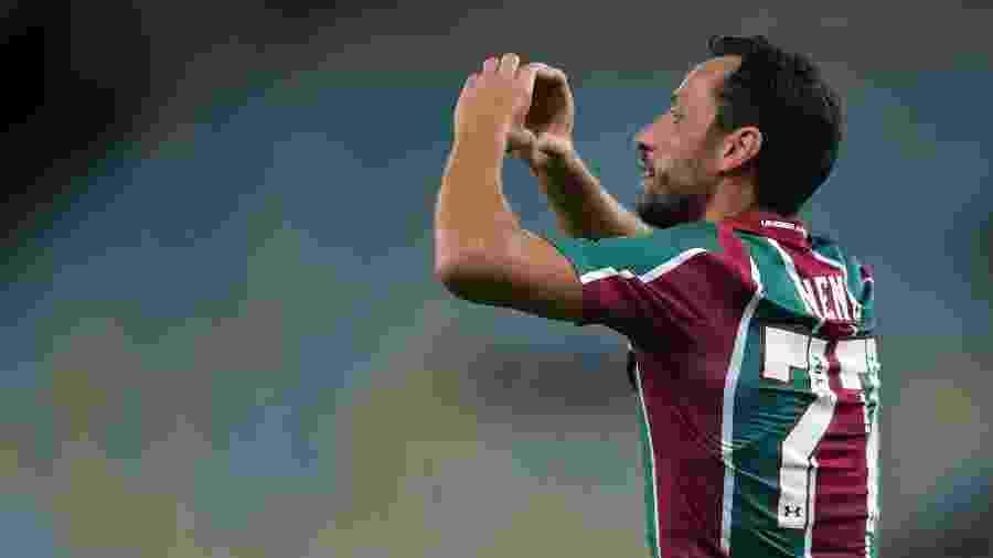 Nenê marcou dois gols em dois jogos e é o destaque do Fluminense no Carioca - Thiago Ribeiro/AGIF