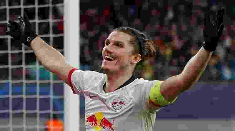 Sabitzer RB Leipzig - Odd Andersen / AFP - Odd Andersen / AFP