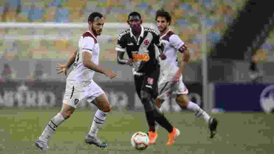 O Campeonato Carioca foi paralisado por causa da pandemia do novo coronavírus - Lucas Merçon / Fluminense F.C.