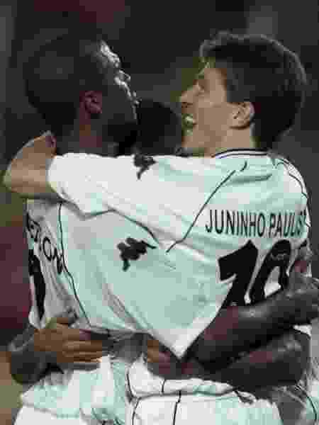 Clébson e Juninho Paulista - REUTERS/Jose Miguel Gomez - REUTERS/Jose Miguel Gomez