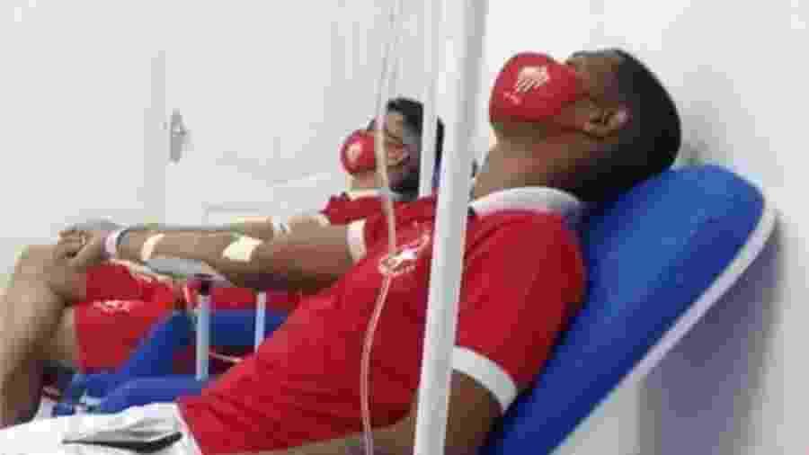 Goleiro Bruno é atendido em hospital no Pará - Divulgação/Facebook/Rio Branco-AC