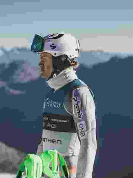 Lucas Pinheiro, atleta brasileiro esqui - Lemos Midia/Divulgação