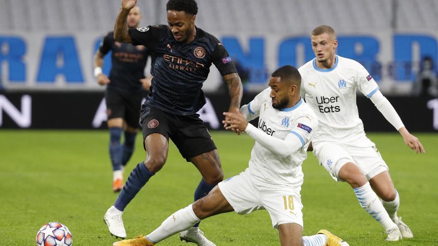 Manchester City e Olympique de Marseille jogam pela Liga dos Campeões - Eric Gaillard/Reuters