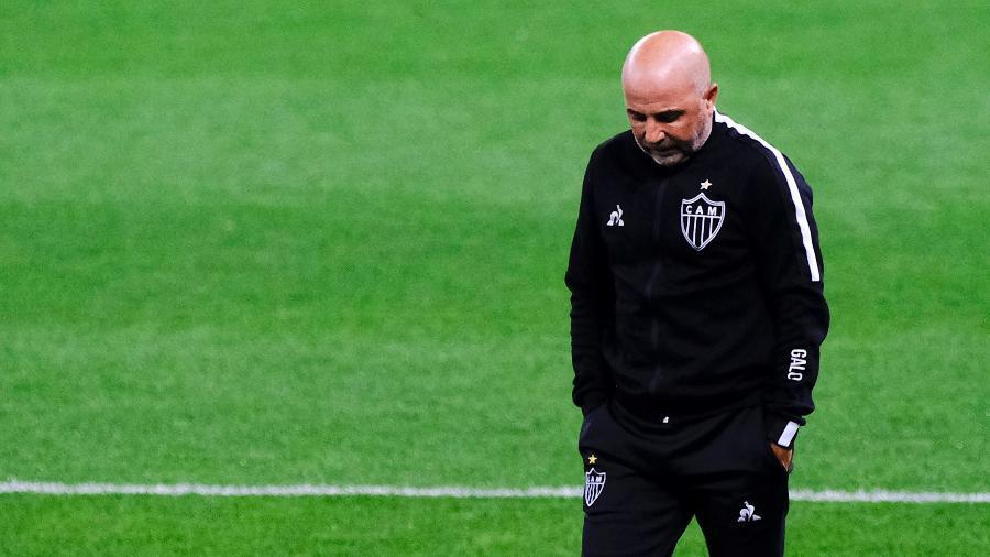 Técnico Jorge Sampaoli quer sair do Galo para dirigir Olympique de Marselha, da França - Daniel Vorley/AGIF