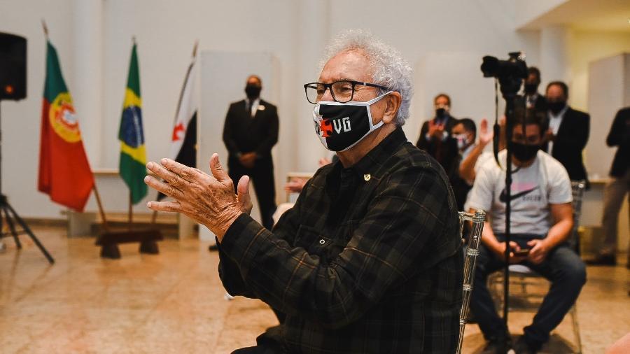 Faues Cherene Jasus, o Mussa: ex-presidente da Assembleia Geral lutou pela implementação das diretas no Vasco - Jorge Perci / Vasco