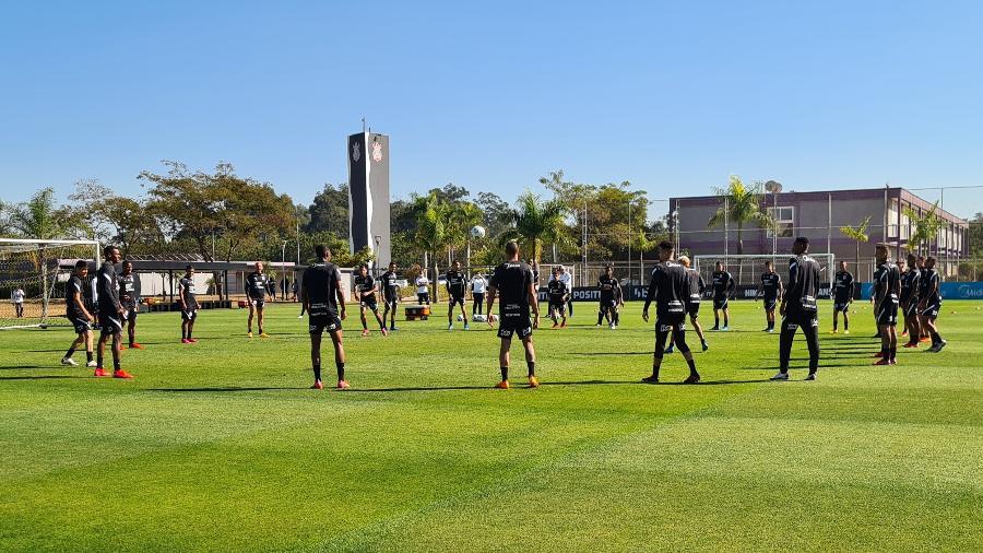 Corinthians viaja nesta tarde para Cuiabá, onde enfrenta o time da casa na Arena Pantanal  - Olavo Guerra/ Ag. Corinthians