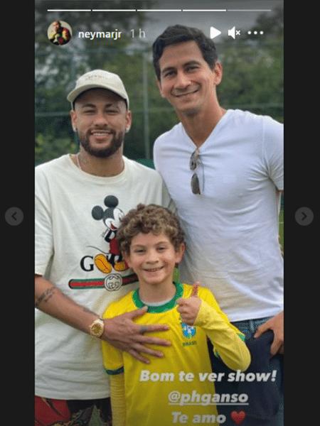Neymar e Ganso no Rio de Janeiro - Reprodução/Instagram