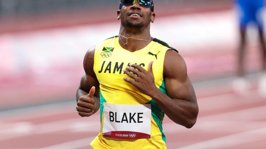 Yohan Blake, finalista em 2016, ficou fora da final em Tóquio - Roger Sedres/Gallo Images/Getty Images