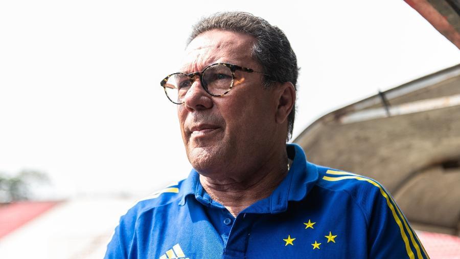 Vanderlei Luxemburgo ainda não perdeu em sua terceira passagem pelo Cruzeiro - Bruno Haddad/Cruzeiro