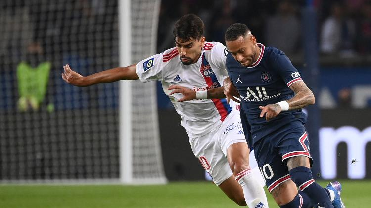 Paquetá e Neymar - FRANCK FIFE / AFP - FRANCK FIFE / AFP
