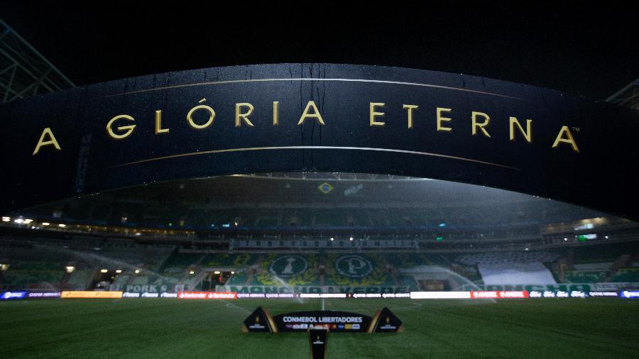 Allianz Parque antes de Palmeiras x Atlético-MG, pela semifinal da Libertadores - Staff Images / CONMEBOL