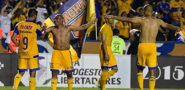 Tigres, do México, foi vice-campeão da Libertadores 2015, perdendo na final para o River Plate