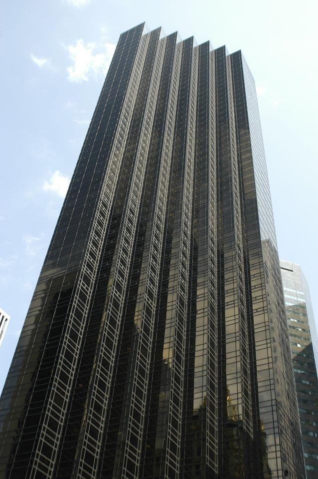 Trump Tower na Quinta Avenida, em Nova York