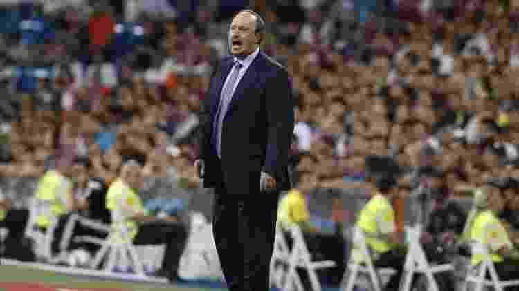 Rafa Benítez orienta equipe do Real Madrid em amistoso contra o Galatasaray - Kiko Huesca/EFE - Kiko Huesca/EFE