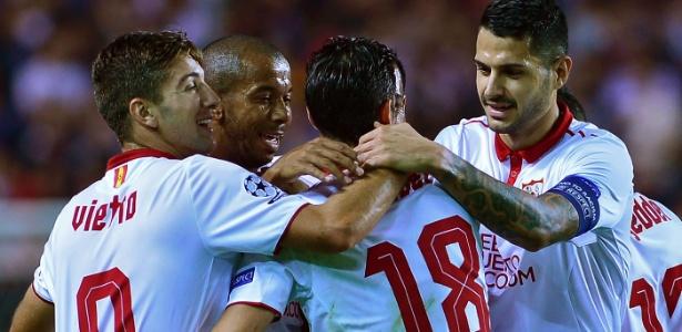 Sevilla dominou o Dinamo Zagreb e venceu com tranquilidade