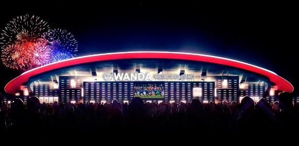 Wanda Metropolitano, novo estádio do Atlético de Madri