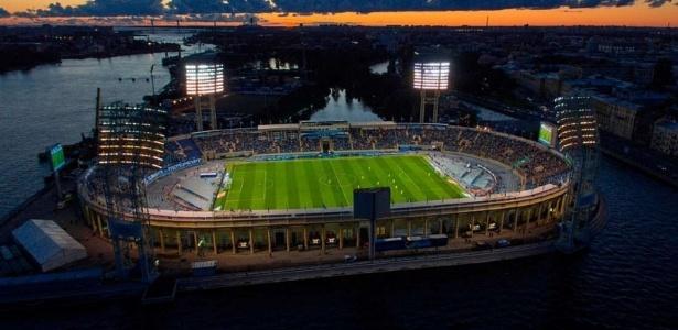 Estádio Petrovsky (foto) será destinado apenas a eventos, como concertos musicais