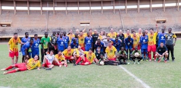 O Ramassà esteve em Uganda no terceiro ano do projeto - Divulgação