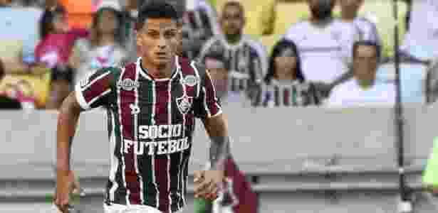 Mascarenhas, lateral do Flu - Mailson Santana/Fluminense FC - Mailson Santana/Fluminense FC