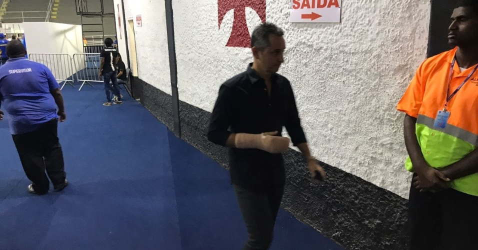 Carlos Leite, empresário de jogadores, votou em Eurico Miranda